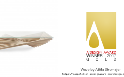 A'Design Award 2017 – Wave